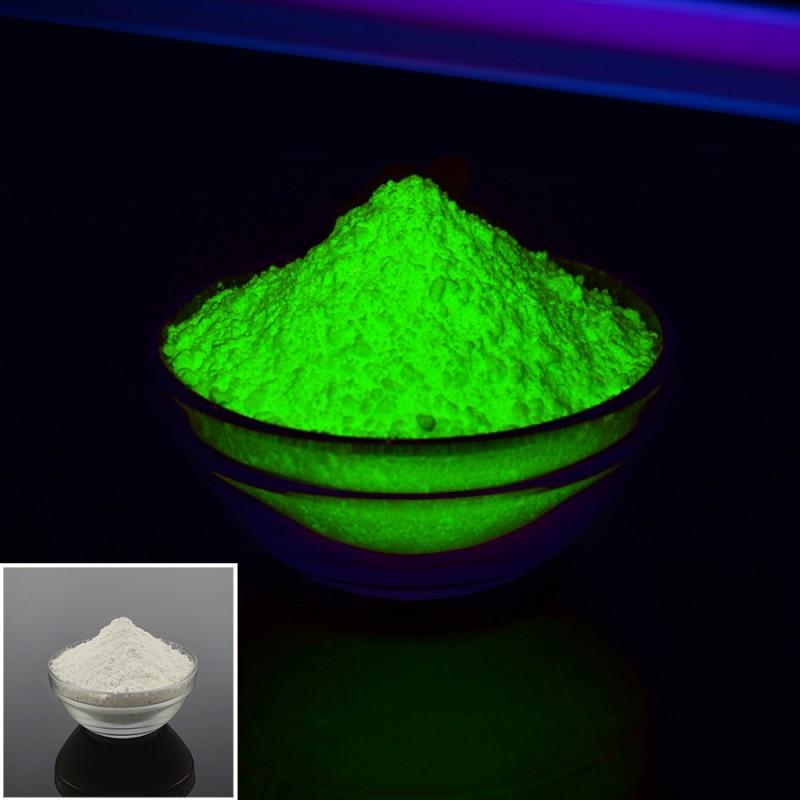 Pigment invizibil fluorescent verde