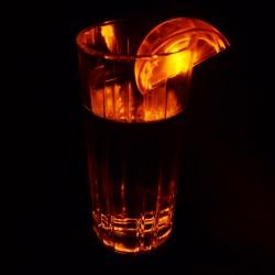 Lamaie decorativa cu LED pentru bauturi