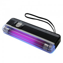Lampa UV (blacklight) portabila de buzunar 4W