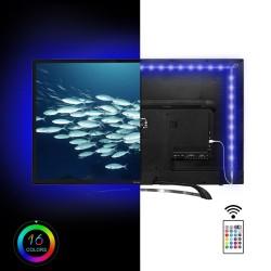 Banda led multicolora pentru TV