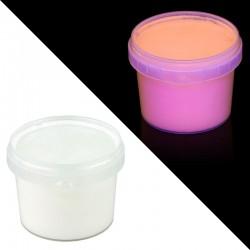 Vopsea invizibila fluorescenta reactiva UV, transparenta portocalie