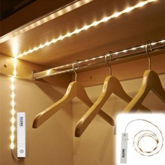 Banda LED cu senzor miscare, lungime 1 m, pentru interior