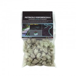 Pietre fosforescente natur care lumineaza aqua, granulatie 25mm