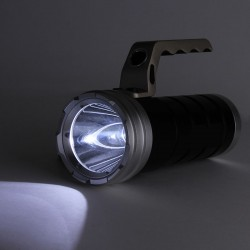 Lanterna metalica, LED, 4W, 3 functii, maner ergonomic