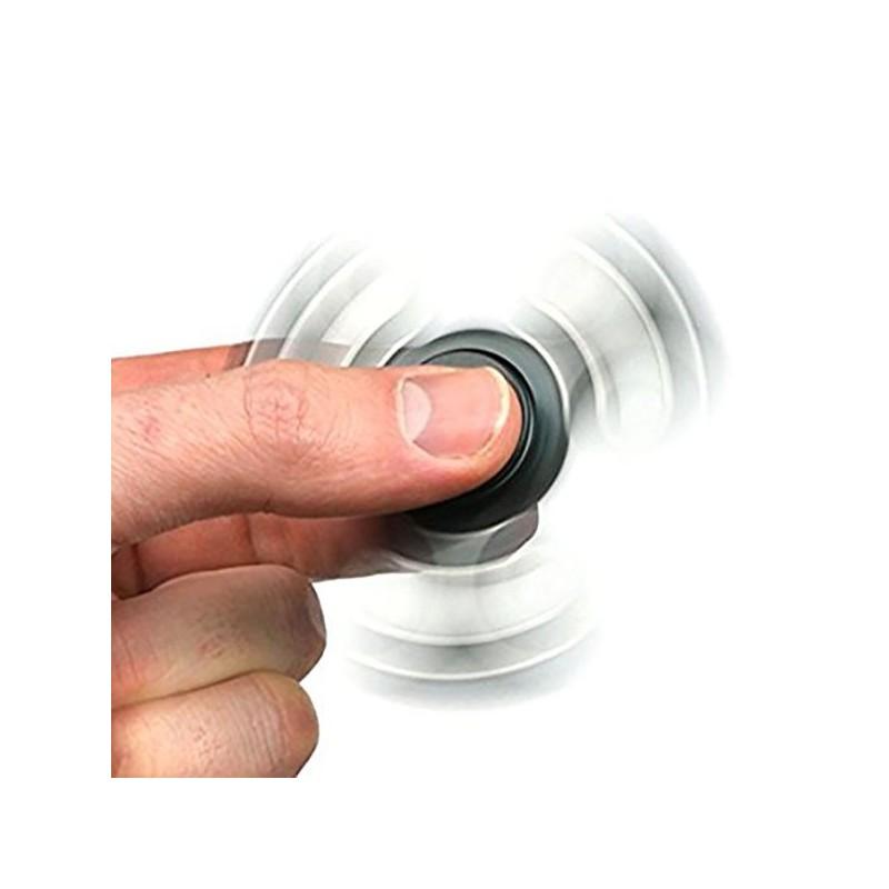 Jucarie anti-stres Fidget Spinner, metalica, pentru adulti si copii