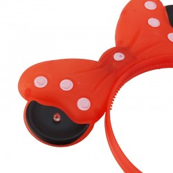 Cordeluta cu LED Minnie Mouse