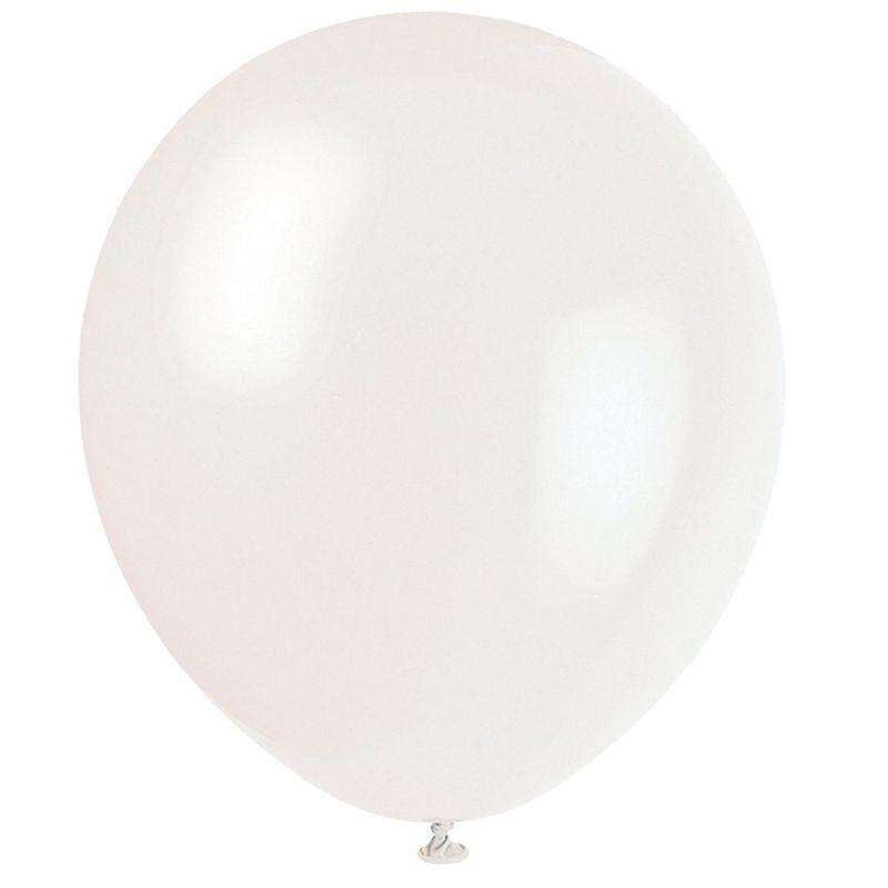 Balone mari colorate Alb c3f825f5799ae