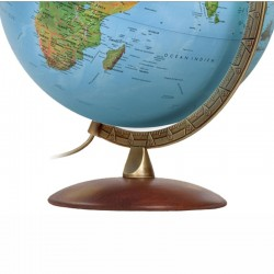 Glob geografic iluminat Astra, clasic, luxos, 30 cm