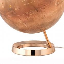 Glob iluminat planeta Marte National Geographic, 30 cm, baza cupru