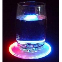 Suport de pahare cu LED bicolor