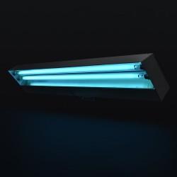 Lampa bactericida de 2x15W