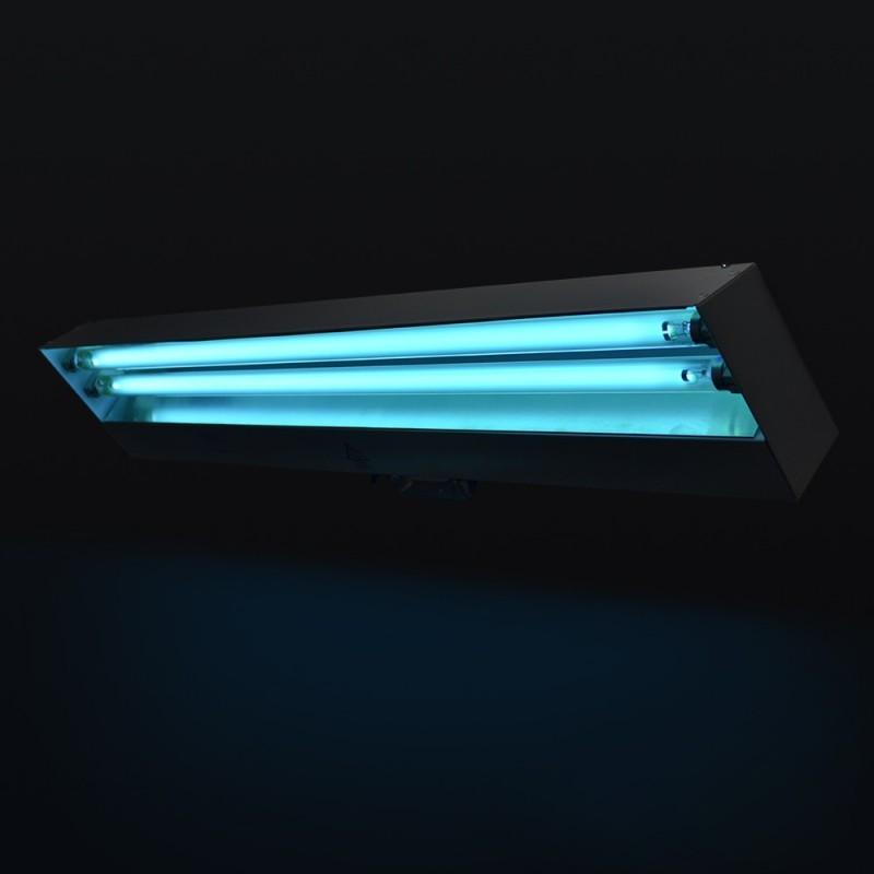 Lampa bactericida UVC de 2x15W, sterilizare si dezinfectie suprafete, aer, fixare perete