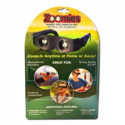 Ochelari binoclu portabil cu zoom reglabil, handsfree, negru