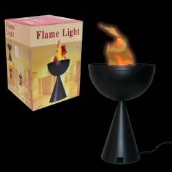 Lampa cu flacari veioza care imita flacara