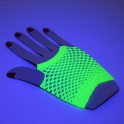 Manusi plasa scurte Neon Fluorescente
