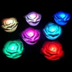 Trandafir cu LED 7 culori