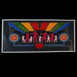 Panou egalizator dance 50 x 25 cm