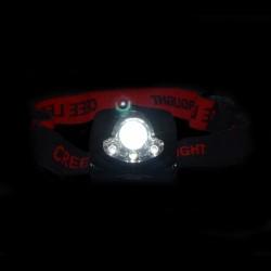 Lanterna cu leduri si vedere nocturna pentru cap
