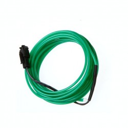 3m fir electroluminescent NEON FLEXIBIL EL WIRE 3.2 si 5 mm cu invertor