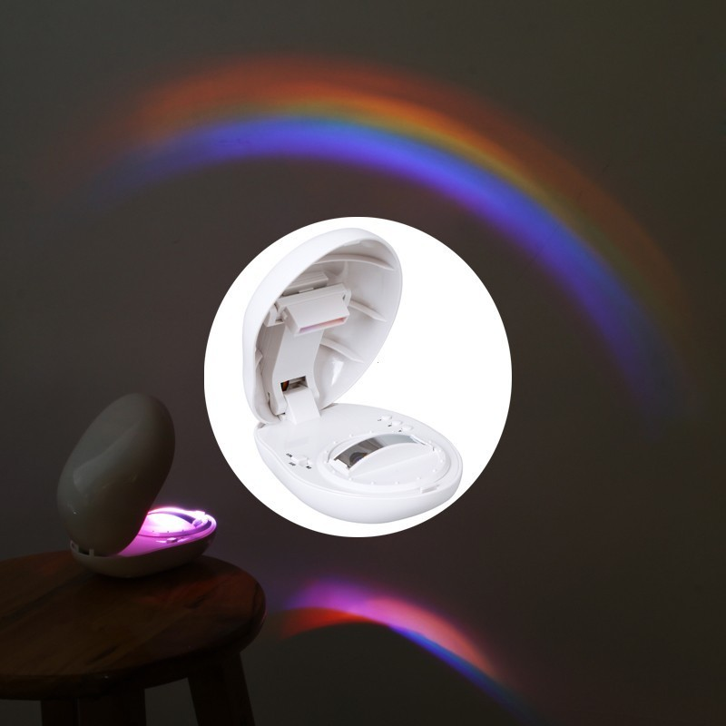 Lampa proiectie curcubeu cu LED