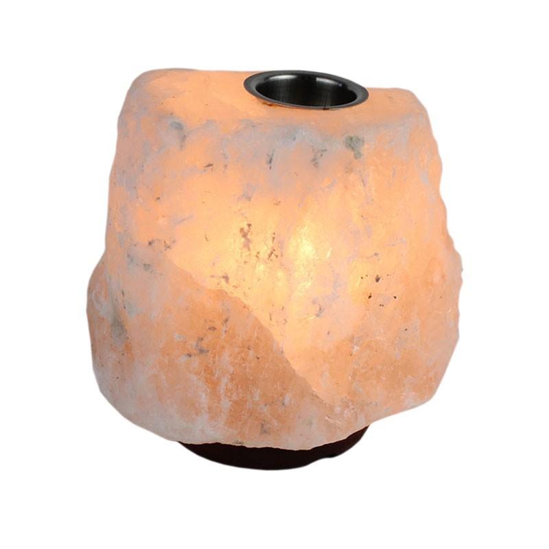 Lampa de sare Natural cu difuzor arome, 2-3 kg