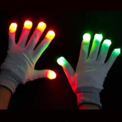 Manusi cu led cu 6 moduri de iluminare