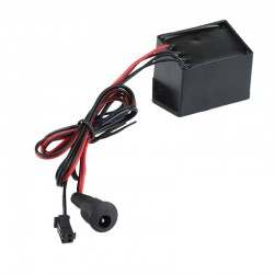 Invertor fir El-Wire 0-40 metri DC 12V