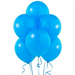 Set baloane pentru petrecere, 100 bucati, albastru, Funny Fashion