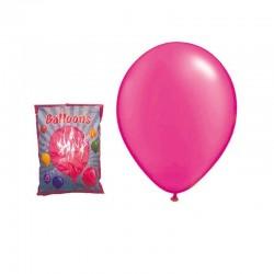 Set 100 baloane roz, diametru 30 cm, latex, Funny Fashion