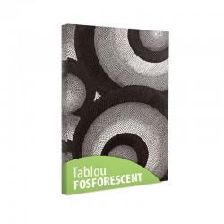 Set tablou fosforescent Cercuri
