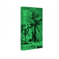 Set tablou fosforescent Pahar si vaza