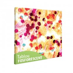 Set tablou fosforescent Acoperire abstracta