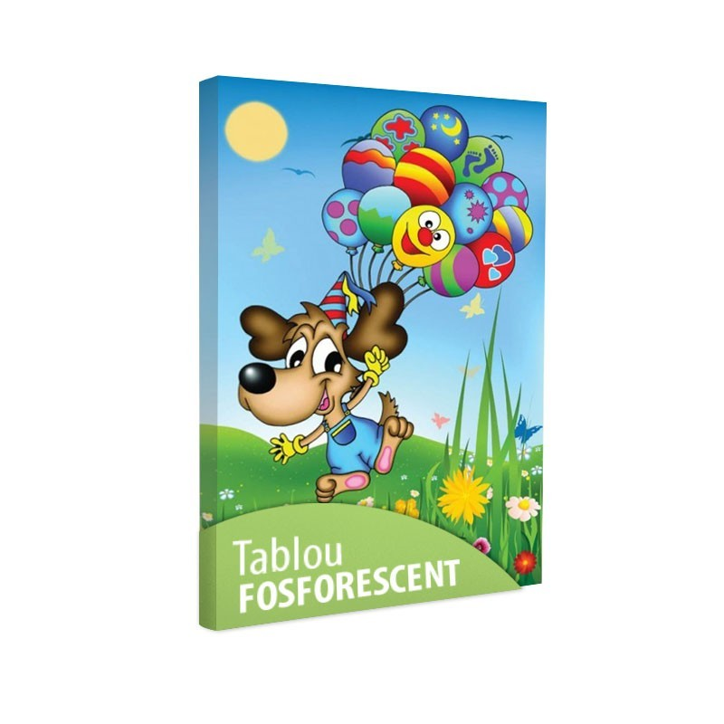 Set tablou fosforescent Catel