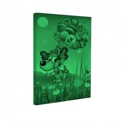 Set tablou fosforescent Catel