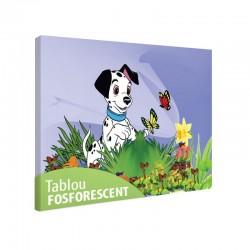 Set tablou fosforescent Dalmatian