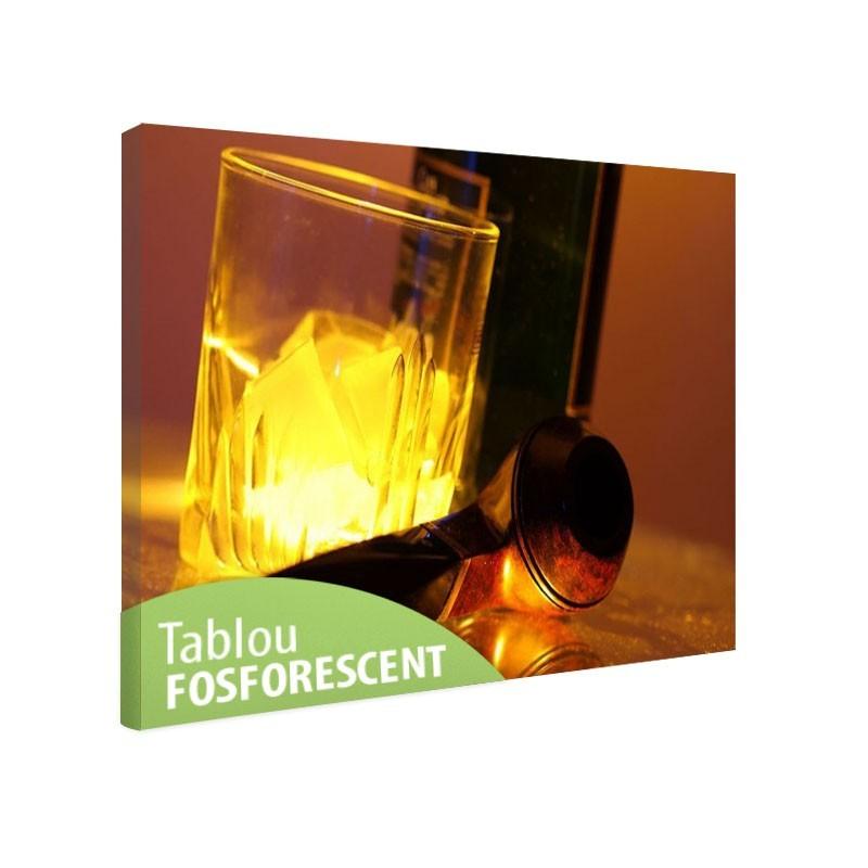 Set tablou fosforescent Set de whisky