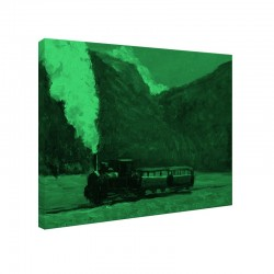 Set tablou fosforescent Tren