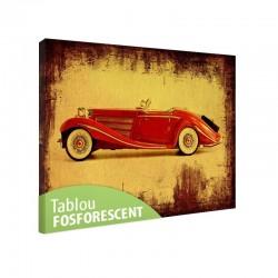 Set tablou fosforescent Cabrio rosu