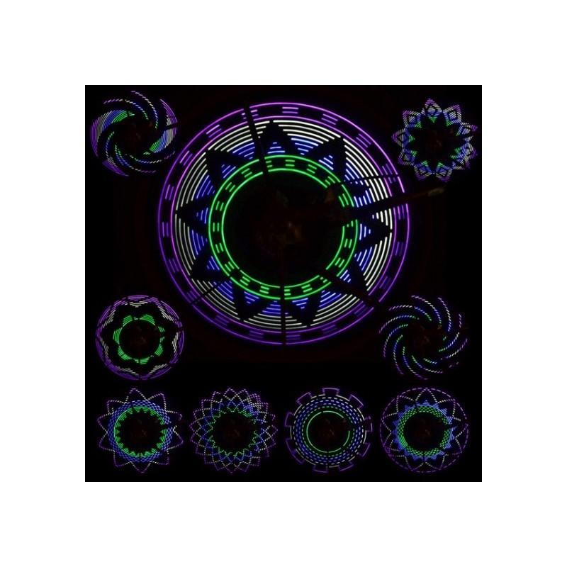 Lumina spita bicileta 16 leduri in 4 culori 30 moduri