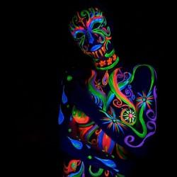 Vopsea UV Neon pentru corp...