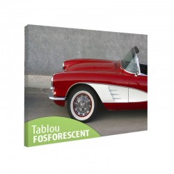 Set tablou fosforescent Corvette