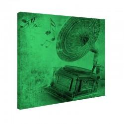 Set tablou fosforescent Gramofon