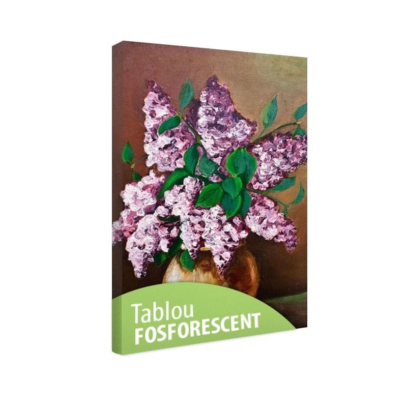Tablou fosforescent Flori de liliac
