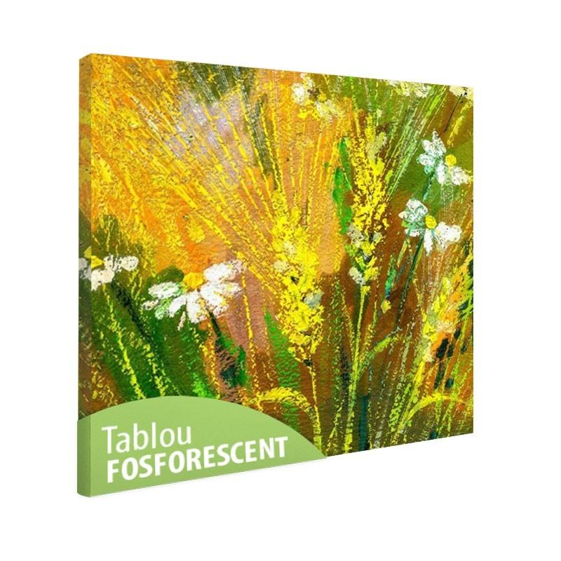 Set tablou fosforescent Flori de camp