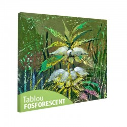 Set tablou fosforescent Floare de camp