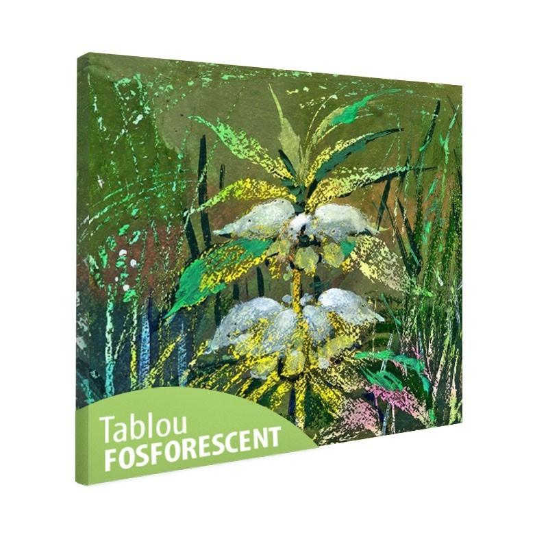Set tablou fosforescent Floare de camp