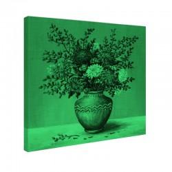 Tablou fosforescent Flori de Ochiul boului in amfora de lut