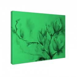 Set tablou fosforescent Magnolii in acuarela