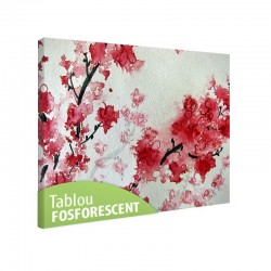 Tablou fosforescent Flori de cires