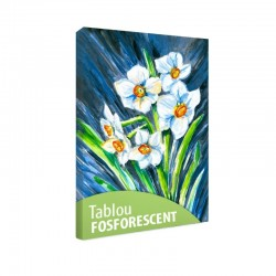 Set tablou fosforescent Narcise